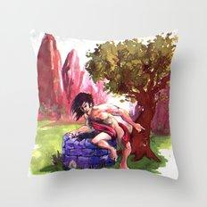 Narcisus Throw Pillow