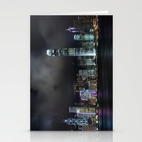 Hong Kong Skyline Stationery Cards