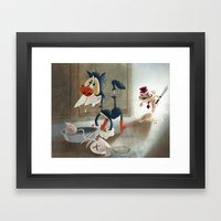 You Moidered My Wife! Framed Art Print