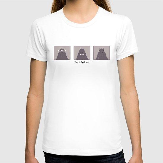 Professor Capybara Triptych T-shirt