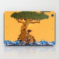 The Ocean Is My Ground iPad Case