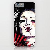 Japanese Creepy Geisha iPhone 6 Slim Case
