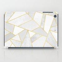 White Stone iPad Case
