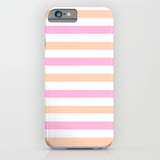 SHERBET STRIPES iPhone & iPod Case