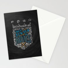 We'll Always Be Royals Stationery Cards