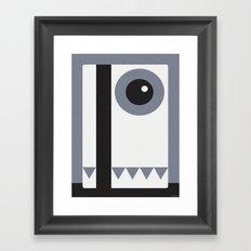 PLASTIC Framed Art Print