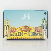 Life Is A Roller Coaster iPad Case