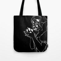 Snow Vader Tote Bag