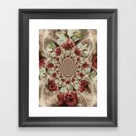 Soft Beauty Framed Art Print