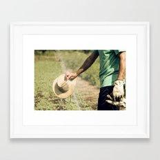 Farmer Framed Art Print