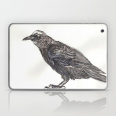 Watercolor Crow Laptop & iPad Skin