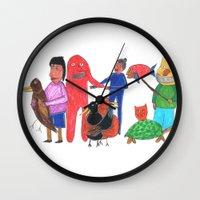 Furgly Wall Clock