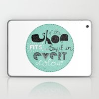 If The Shoe Fits... Buy … Laptop & iPad Skin