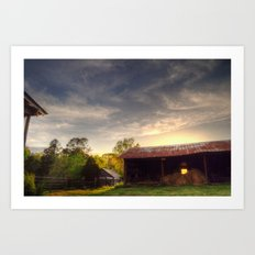 Tennessee Sunset Art Print