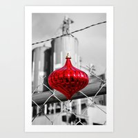 Industrial Yuletide Art Print