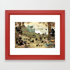 The Octonauts Sea of Shade Framed Art Print