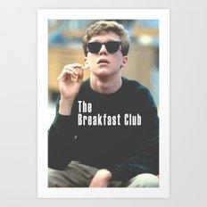 The Breakfast Club / Brian Art Print