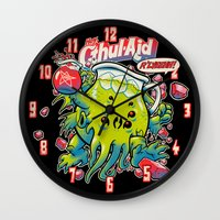 CTHUL-AID Wall Clock
