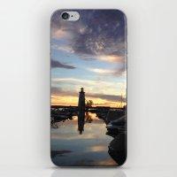 Sylvan Lake Lighthouse iPhone & iPod Skin