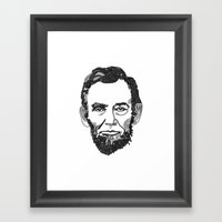 Link- In Framed Art Print