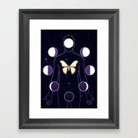 The Mothman Framed Art Print