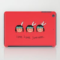 Red Indian iPad Case