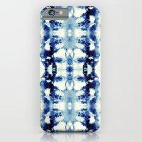 Tie Dye Blues iPhone 6 Slim Case