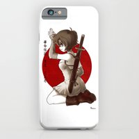 iPhone & iPod Case featuring Swordsgirl by Louna