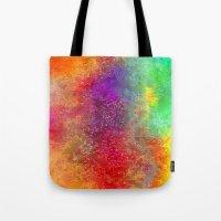 Aa 2 Colourful Digital A… Tote Bag