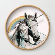 Unicorn III Wall Clock