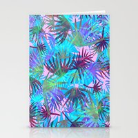 Tropicana - Blue Stationery Cards