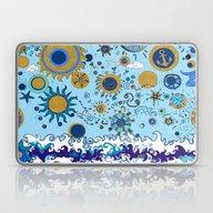 Sun & Sea Laptop & iPad Skin