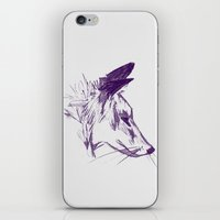 Mr Fox II iPhone & iPod Skin