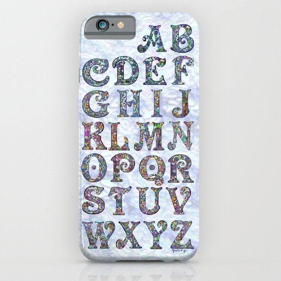 The Alphabet iPhone & iPod Case
