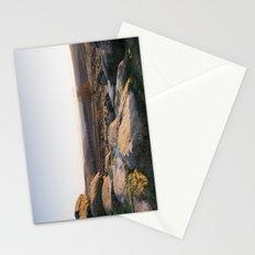 Owler Tor rock formations at sunset. Derbyshire, UK. Stationery Cards