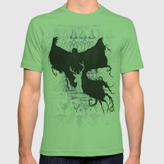 Harry Potter Mens Fitted Tee Grass SMALL