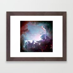 M42 Orion Nebula Framed Art Print
