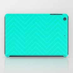 Mint Chevron iPad Case