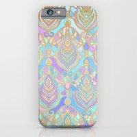 Jade & Blue Enamel Art Deco Pattern iPhone 6 Slim Case