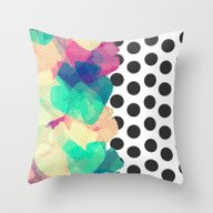 The Fall Patterns #2  Throw Pillow