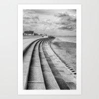 North Beach, Heacham, No… Art Print