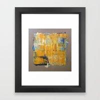 LINEN 4 Framed Art Print