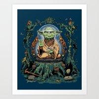 Yodhisattva Art Print