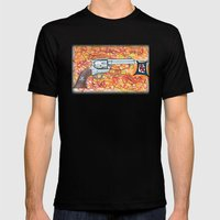 Quick Draw Mens Fitted Tee Black SMALL