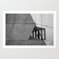 urban cell Art Print