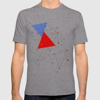 Knot Mens Fitted Tee Tri-Grey SMALL