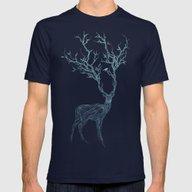 T-shirt featuring Blue Deer by Huebucket