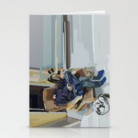 Some Kind Of Time Dimens… Stationery Cards