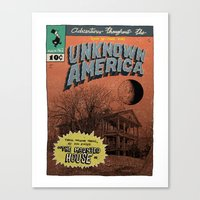 Unknown America Comics #… Canvas Print