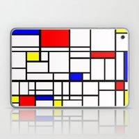 Mondrian inspired Laptop & iPad Skin
